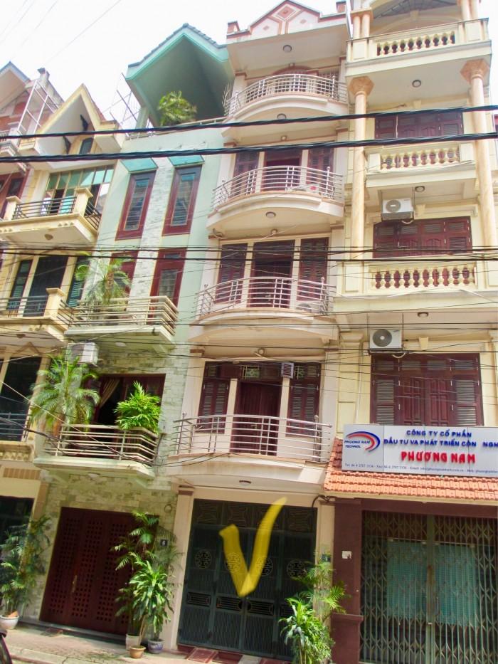 Bán nhà 5 tầng KĐT Nguyễn Khánh Toàn, hướng Tây Bắc