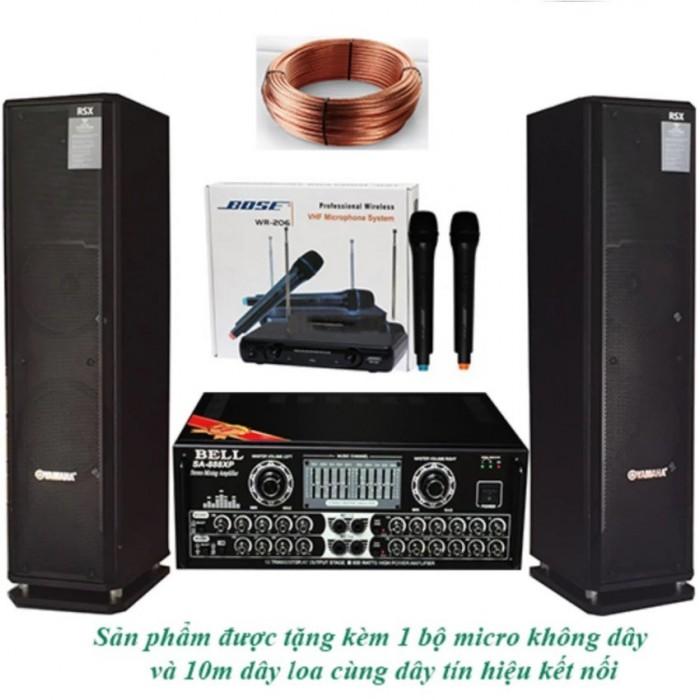 Dàn Karaoke Yamaha + Aamly Bell 8888xp