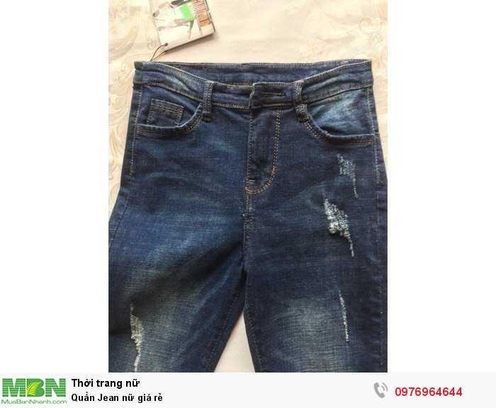 Nguồn hàng sỉ từ xưởng Quần Jean nữ giá rẻ1