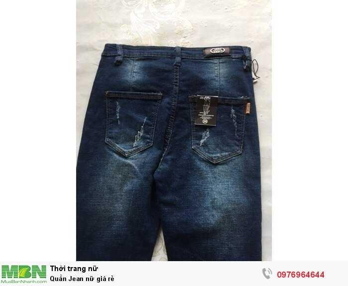 Xưởng may Quần Jean nữ giá rẻ2