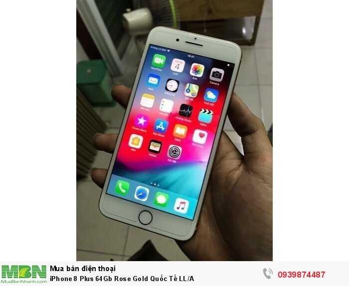 iPhone 8 Plus 64Gb Rose Gold Quốc Tế LL/A0