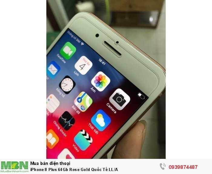 iPhone 8 Plus 64Gb Rose Gold Quốc Tế LL/A3