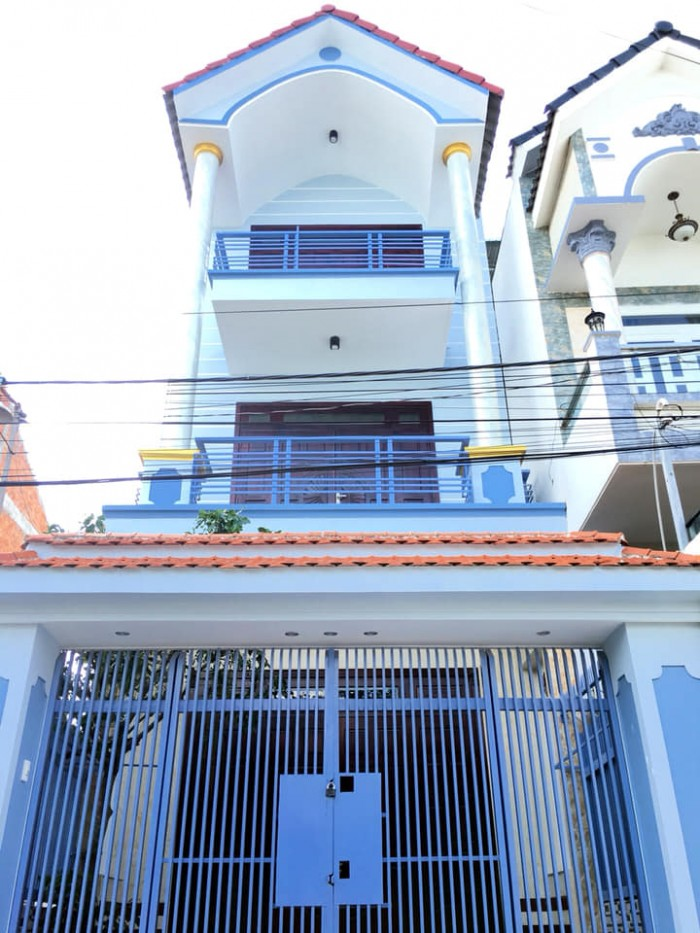 Bán Nhà 1 Trệt 2 Lầu Trục Chính Hẻm 6 Đường Trần Vĩnh Kiết P. An Bình Q. Ninh Kiều