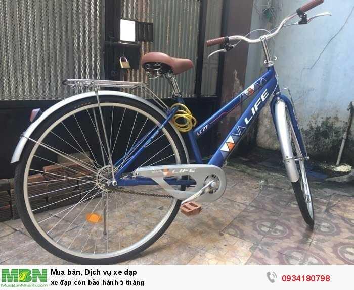 Xe đạp còn bảo hành 5 tháng