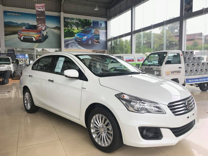 Bán Suzuki Ciaz 2019, bạc, nhập khẩu giá tốt nhất tại Cao Lộc, Lạng Sơn 2
