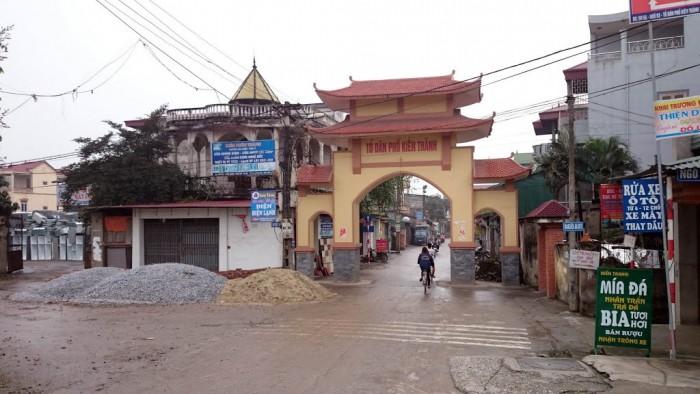 Bán nhà đất 2 mặt thoáng Kiên Thành, Trâu Qùy, Gia Lâm, Hà Nội.