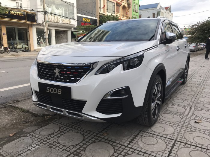 Peugeot 5008 Trắng Ngọc Trinh -- Peugeot Thái Nguyên 0