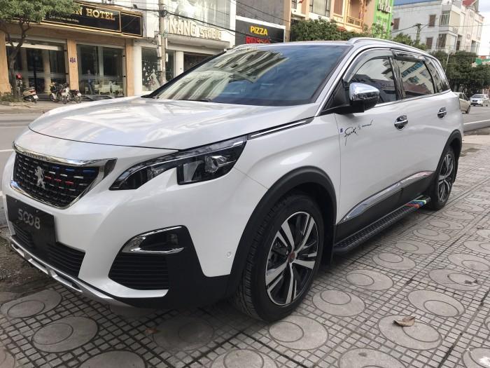 Peugeot 5008 Trắng Ngọc Trinh -- Peugeot Thái Nguyên 3