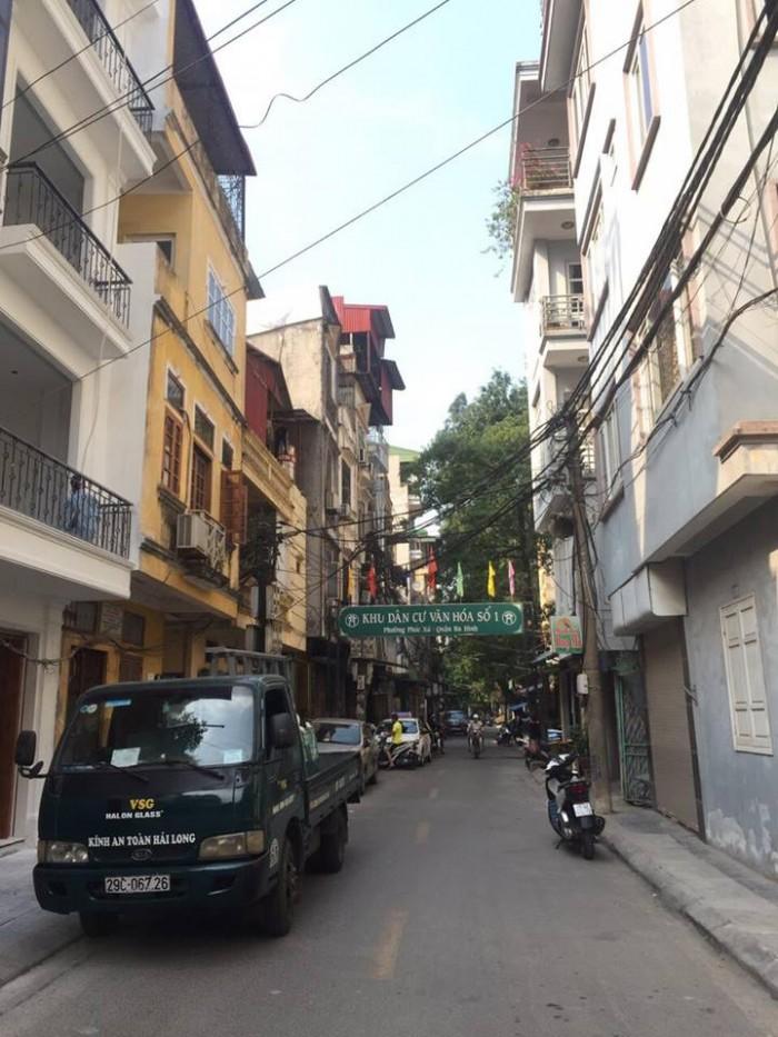 Cần bán nhà mặt phố Quận Ba Đình, Hà Nội.