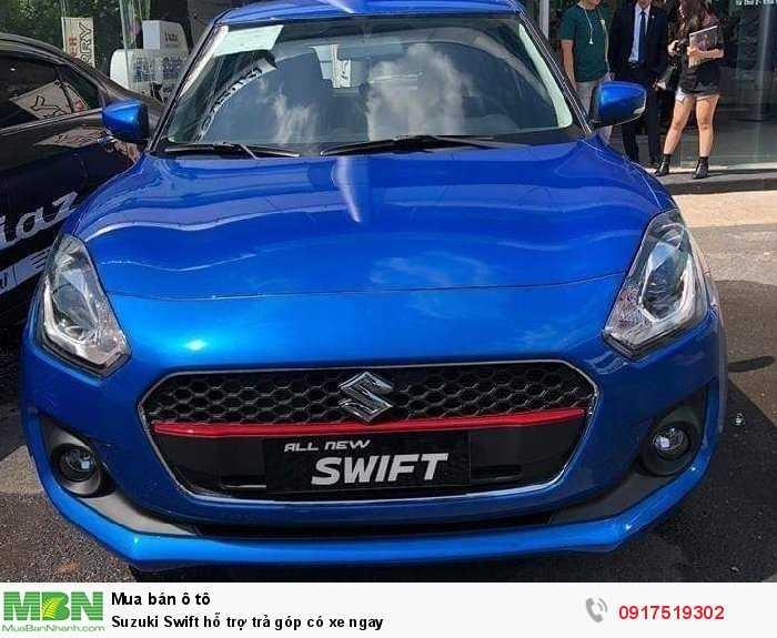 Suzuki Swift hỗ trợ trả góp có xe ngay