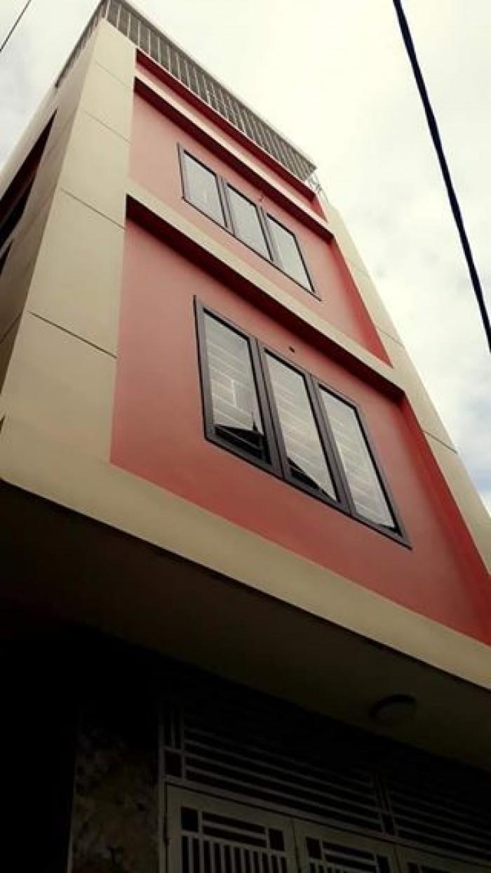 Bán gấp nhà mặt ngõ Tây Sơn, DT 42m x 4 tầng, MT 4m