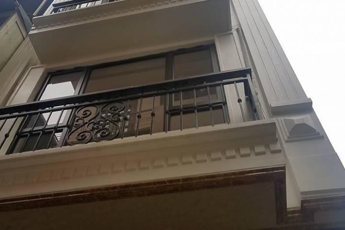 Nhà đẹp 5 tầng ngõ phố Hồng Mai 38m2 măt tiền 3,5m , ô tô đỗ cách 30m .
