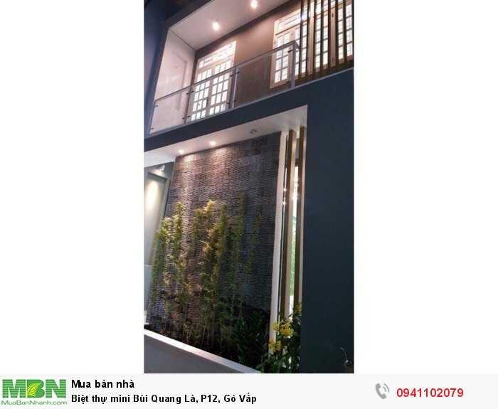 Biệt thự mini Bùi Quang Là, P12, Gò Vấp