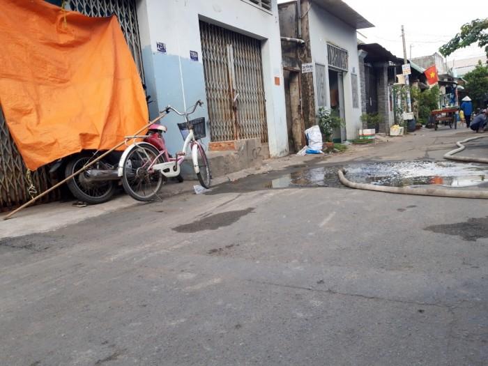 Bán đất thổ cư có sổ riêng ngay đường Bò Tèo, cách Lê Văn Khương 600m. dt 4x13m shr
