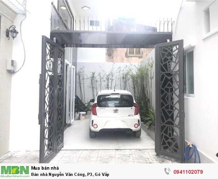 Bán nhà Nguyễn Văn Công, P3, Gò Vấp