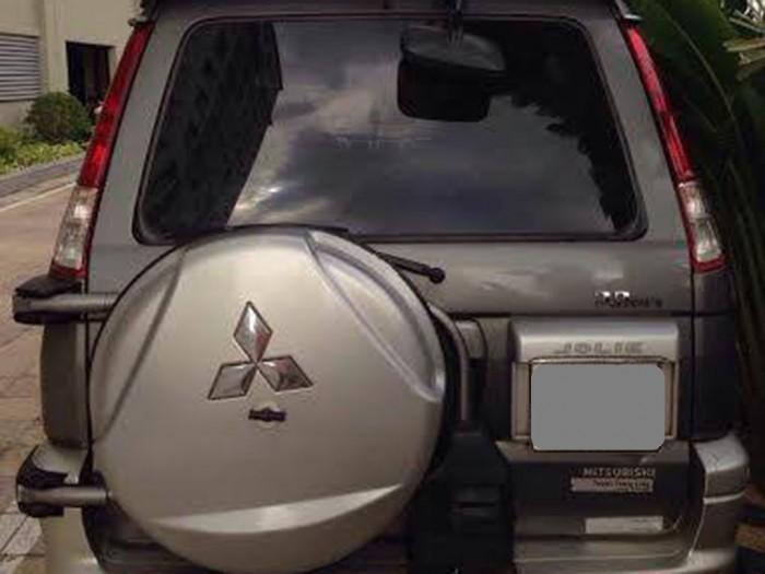 Bán Mitsubishi Jolie Xám 2005 số sàn xăng bánh treo rất tuyệt.