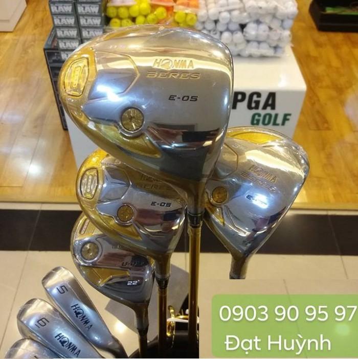 Bộ gậy golf Honma Beres E-05 4 sao shaft vàng 44g1