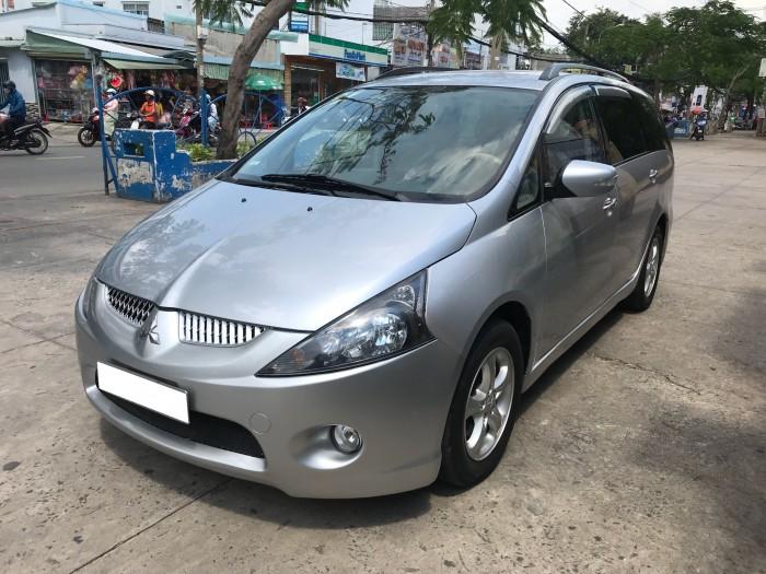 Hết tiền bán xe gấp Grandish 2007, số tự động, máy xăng, màu bạc còn ken xà ben.