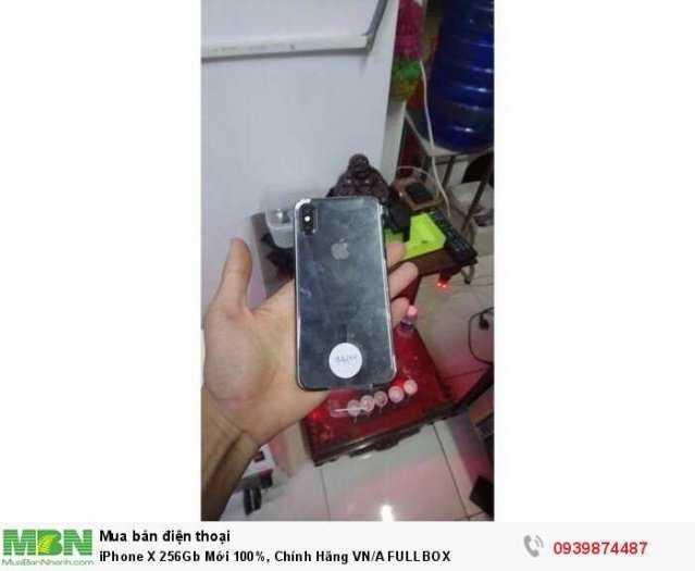 iPhone X 256Gb Mới 100%, Chính Hãng VN/A FULLBOX1