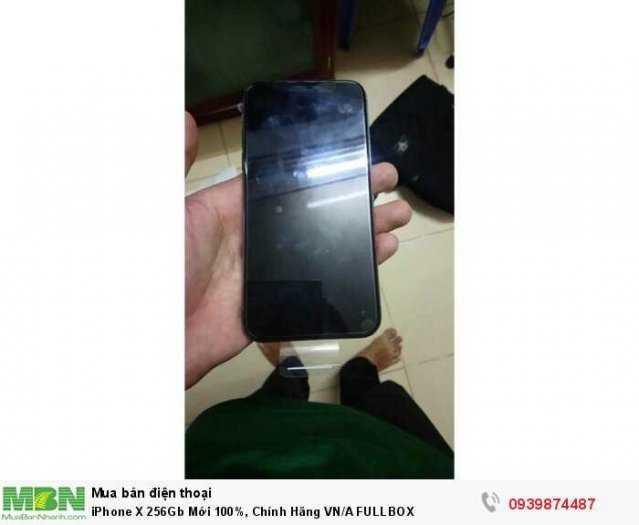 iPhone X 256Gb Mới 100%, Chính Hãng VN/A FULLBOX3