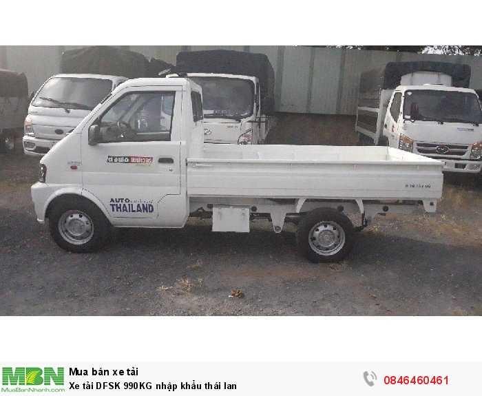 Xe tải DFSK 990KG nhập khẩu thái lan 1