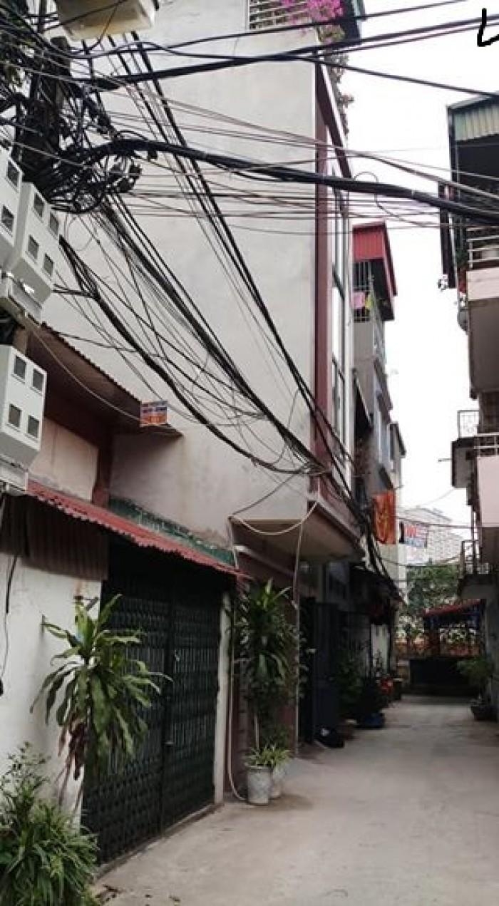Bán nhà Hào Nam kinh doanh sầm uất. 4 tầng S 39m2