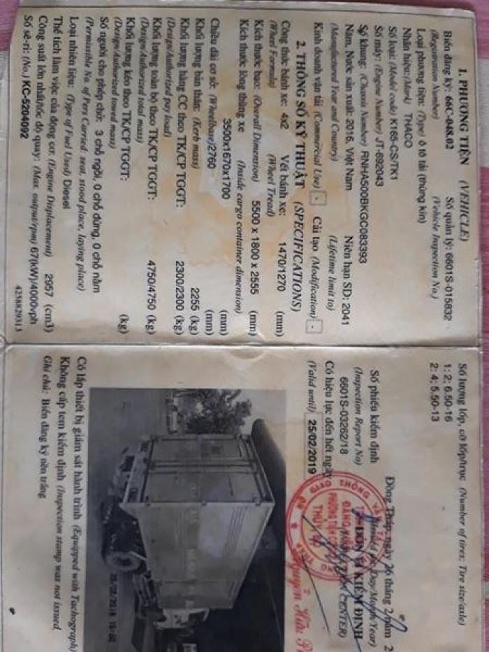 Kia Khác Số tay (số sàn) Xe tải động cơ Dầu diesel