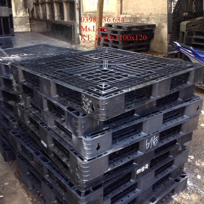Pallet nhựa chất lượng tốt, giao hàng toàn quốc0