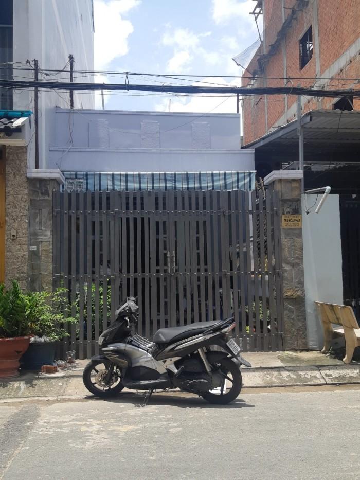 Bán nhà Hẻm 6m đường Thoại Ngọc Hầu 3,5x18,5m