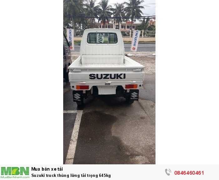 Suzuki truck thùng lững tải trọng 645kg 1