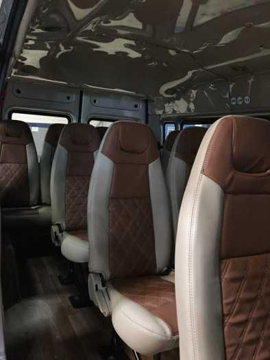 Transit 2014, màu bạc, xe công ty