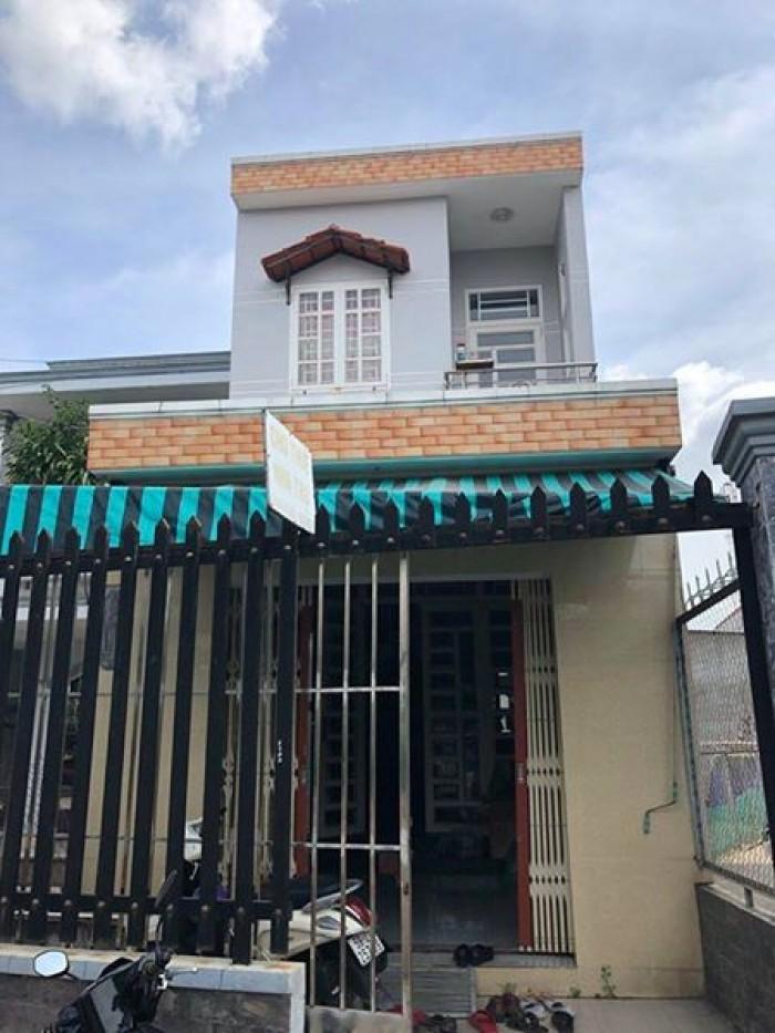 Bán nhà hẻm 2144 Huỳnh Tấn Phát, Nhà Bè, nhà 1 trệt 1 lầu, DT 5m x 19m, sổ hồng riêng