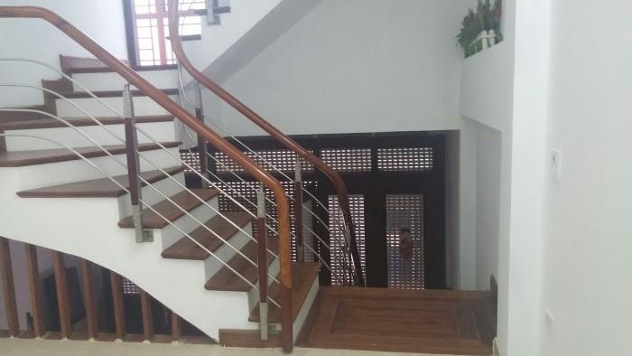 Cho thuê nhà mặt ngõ Lê Trọng Tấn, DT 60m2x6 tầng, mặt ngoài ốp kính hiện đại, ngõ rộng 3m oto vào