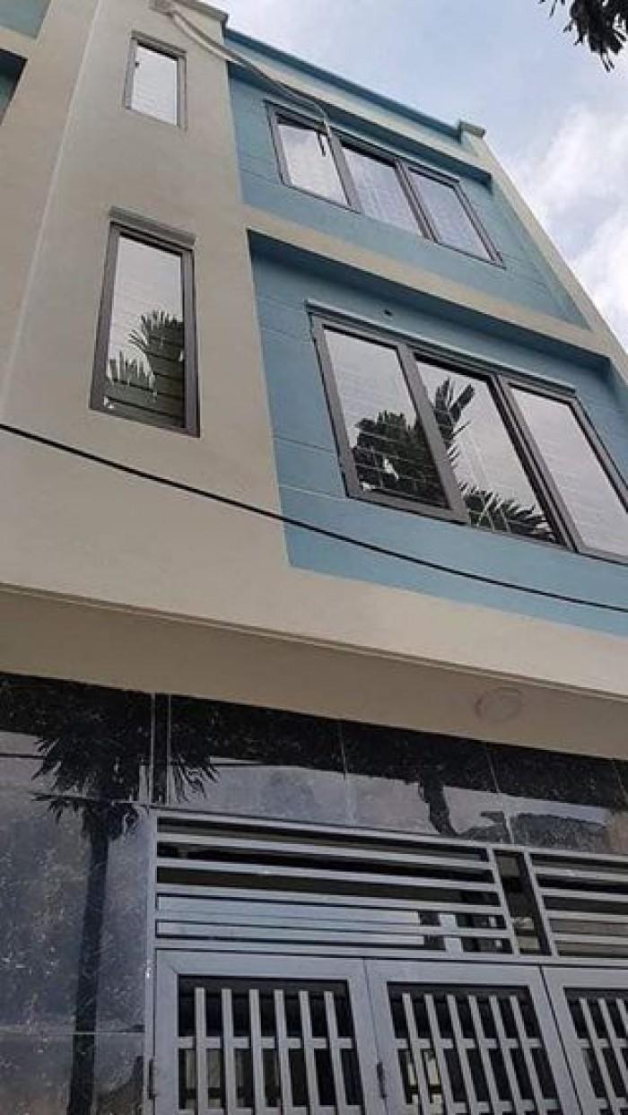Cần bán nhà mặt ngõ Khương Trung, DT 35m x 4 tầng, lô góc