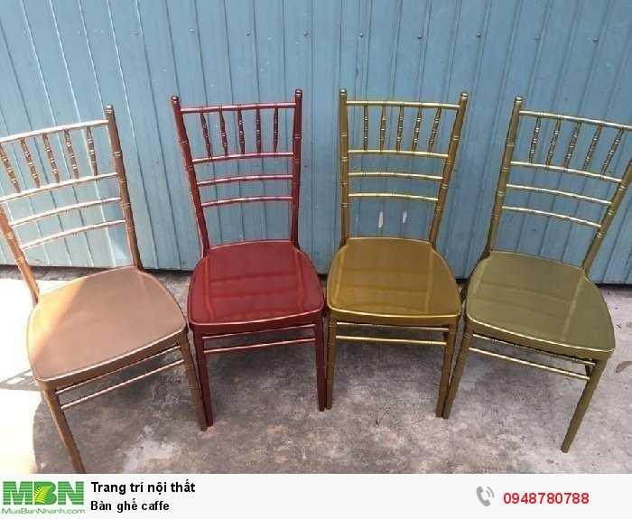 Bàn ghế caffe2
