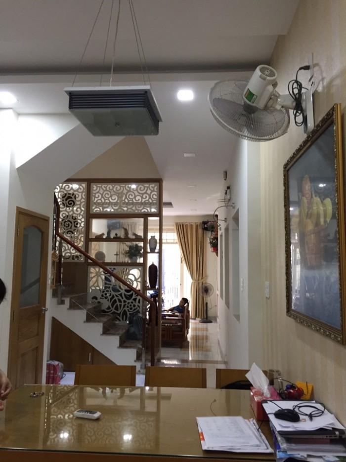 Cho thuê nhà nguyên căn Nguyễn Sơn,4x16m, 3 lầu,3pn,3wc, nhà mới