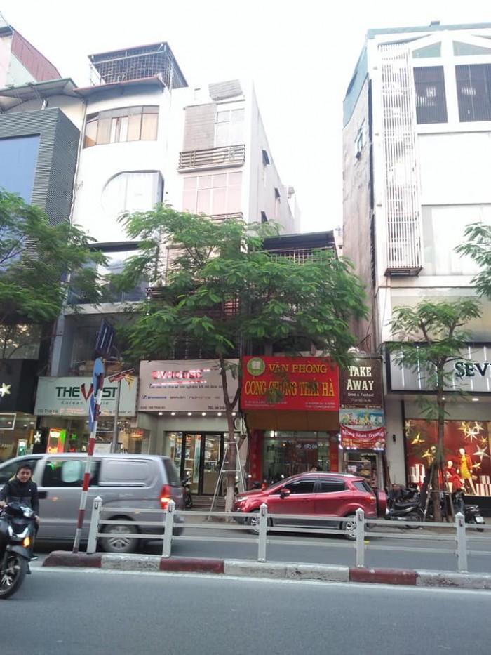 Nhà mặt phố Thái Hà 6 tầng DT68,5m2 MT4,2m
