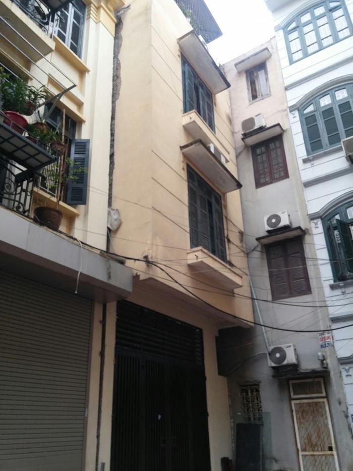 Cho thuê nhà ngõ 51 Linh Lang, Ba Đình. Diện tích 100m2 x 5 tầng có thể cho thuê 1-2-3 tầng