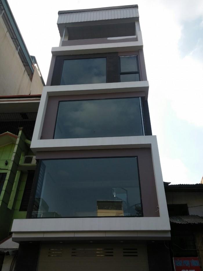 Cho thuê 3 tầng trong nhà 5 tầng mặt phố Nguyễn Lân,Thanh Xuân. lối đi riêng, diện tích 100m2, gần hồ