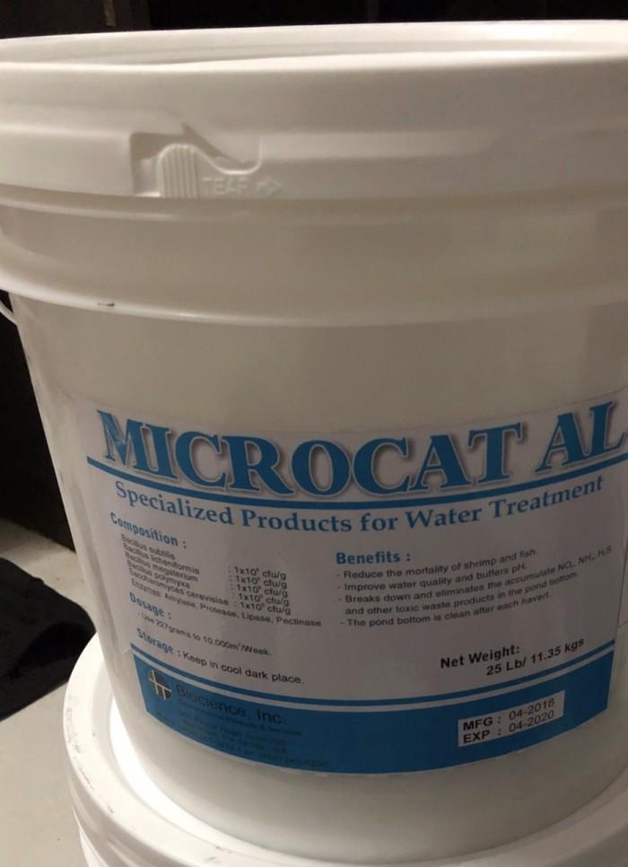 Men vi sinh xử lý nước và đáy ao Microcat AL, Men vi sinh Mỹ0