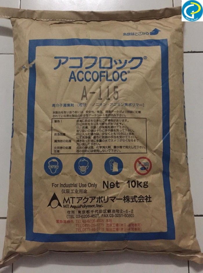 Chất keo tụ, lắng tụ trong nuôi trồng thủy sản Accofloc A1150