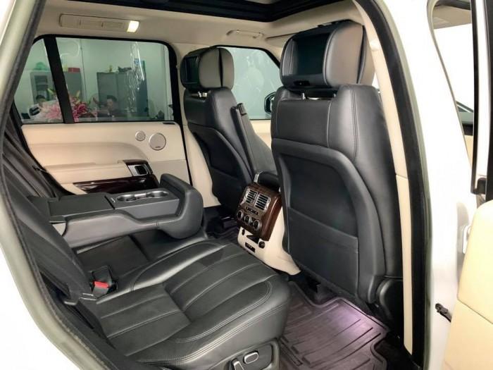 Ranger Rover Supercharged 5.0 model 2014 màu trắng