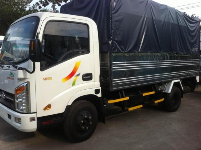 Xe tải Veam VT252-1 trọng tải 2,5tan thùng dài 4m2  đời 2017