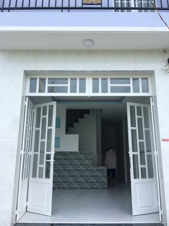 Nhà mới xây HL11-Tân Kim, 3 lầu, 3pn, 2wc, bếp, phòng khách, sân thượng, DT sàn 120m2