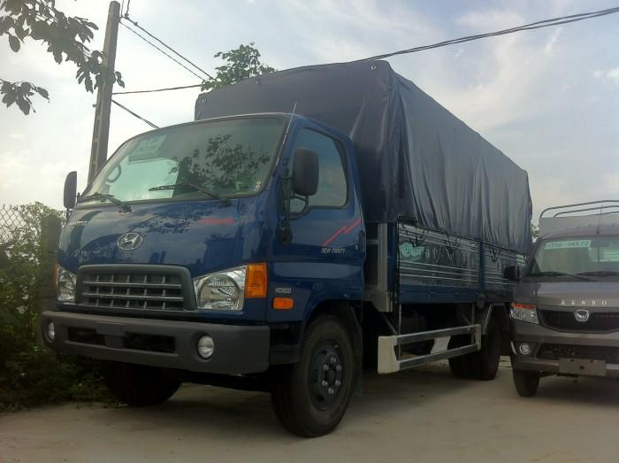Xe tải Hyundai HD800 trọng tải 8 tấn, thùng dài 5m1