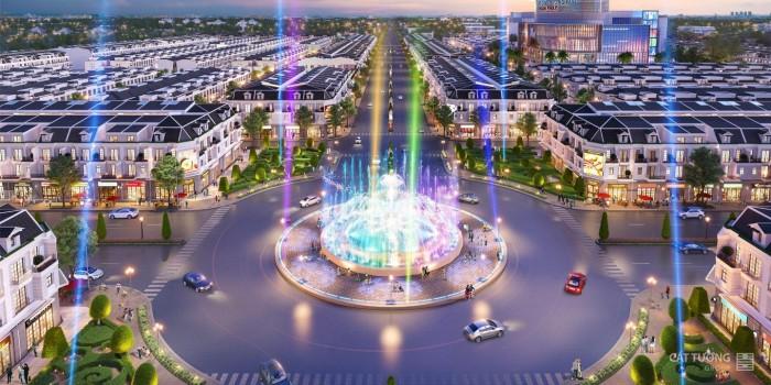 Quảng trường ánh sáng ngay trung tâm KDC