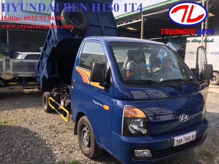 Hyundai h150 ben 1t5 Cần Thơ,hyundai h150 an giang, hyundai an giang, hyundai kiên giang, hyundai sóc trăng