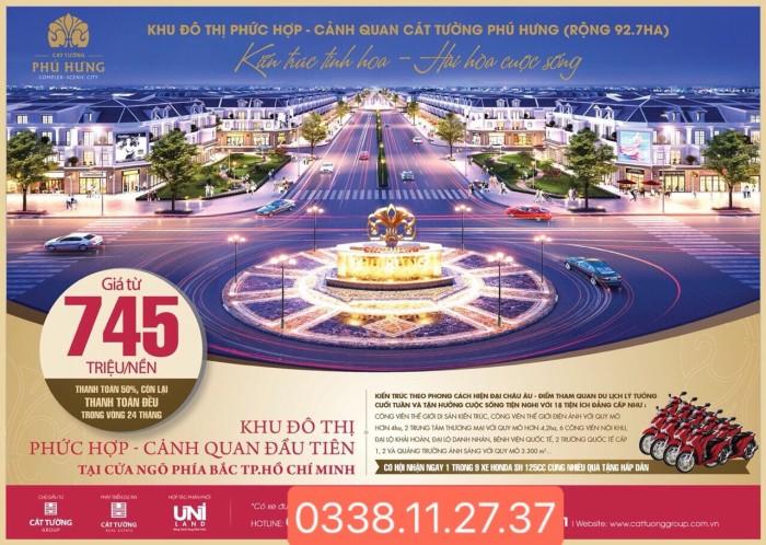 Chủ trương của UBND tỉnh, quy hoạch 1/500-Dự án KDC phúc hợp cảnh quan Cát tường tiến hưng...