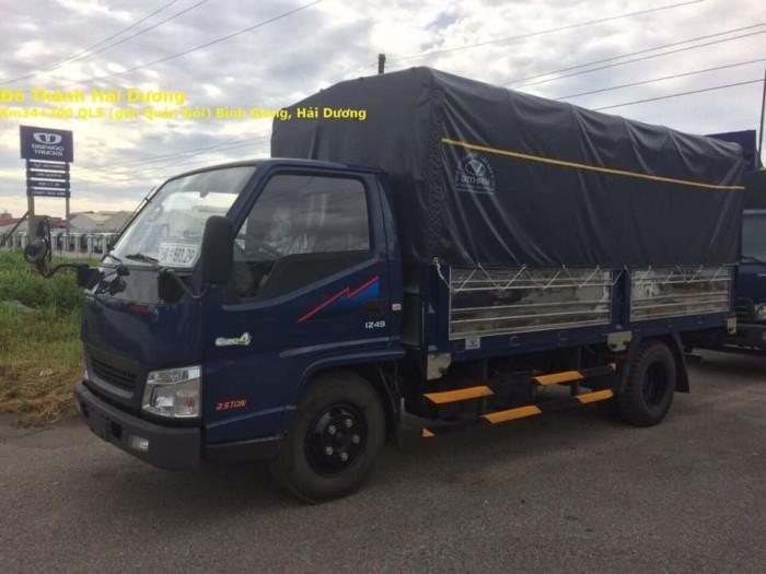 Xe tải Đô Thành IZ49 Tải 2.5 tấn thùng 4m3 2