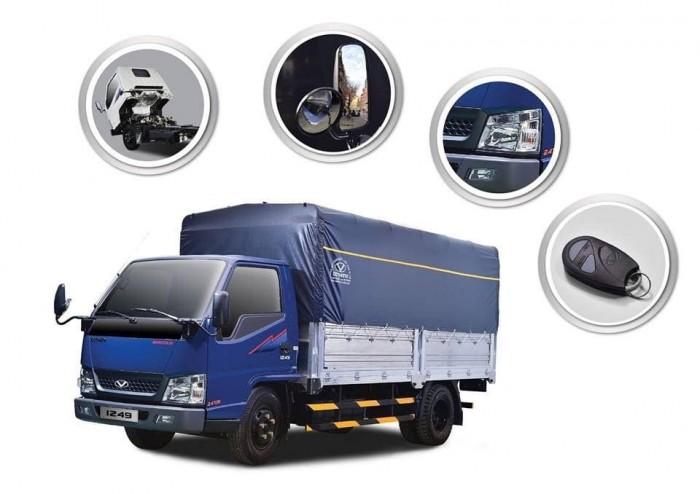 Xe tải Đô Thành IZ49 Tải 2.5 tấn thùng 4m3 0